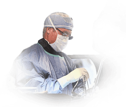 Spine Surgeon Performing Operation