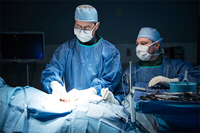 Doctors Perform Spinal Stenosis Treatment