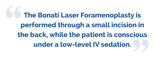 Laser Foramenoplasty for the Lumbar Spine