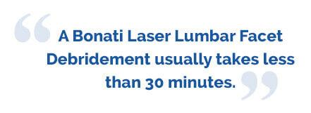 Laser Lumbar Facet Debridement