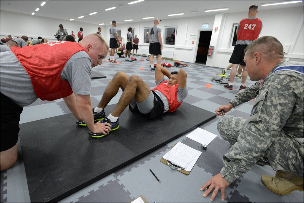 US Army phasing out sit-ups due to spine injuries